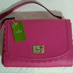 Kate Spade Jazmin Maple Court pink shoulder bag